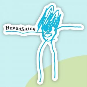 Huvudfotings logotyp